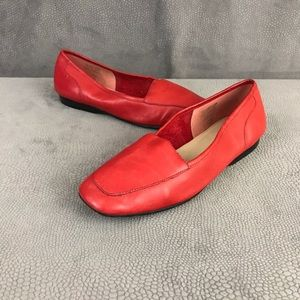Enzo Angiolini - Liberty Cherry Red Leather Flats